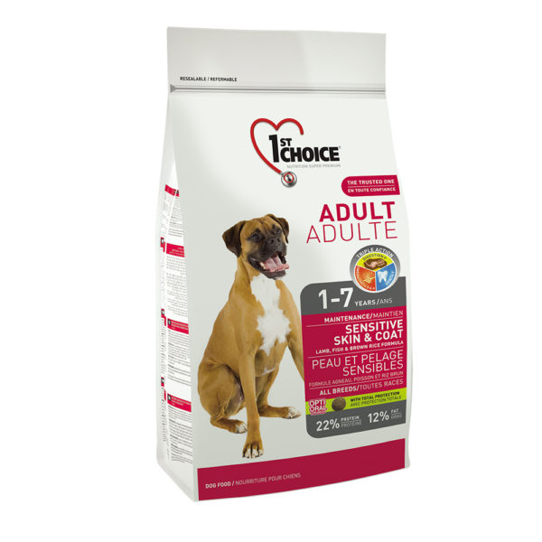 1st Choice Adult All Breeds Lamp & Fish15kg