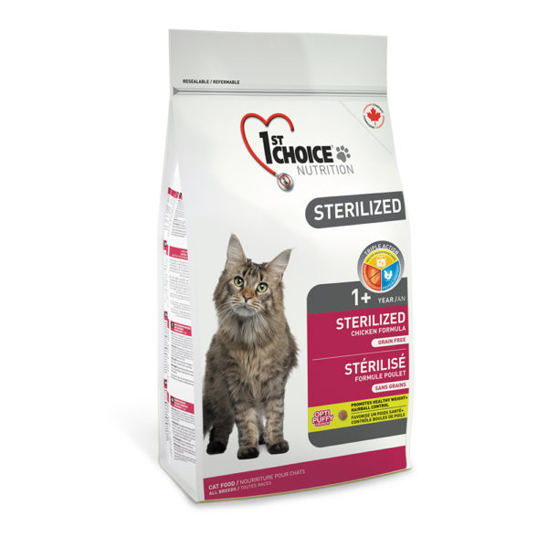 1st Choice Sterilized Adult All Breeds Grain Free 2,4kg