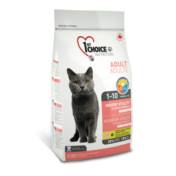 1st Choice Adult Indoor Vitality All Breeds 10kg