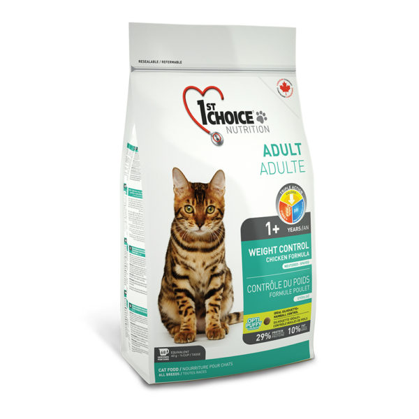 1st Choice  Adult All Breeds Weight Control Sterilizet 2,72kg