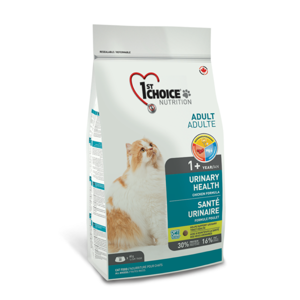 1st Choice Adult Urinary Health With Chicken 1,8kg