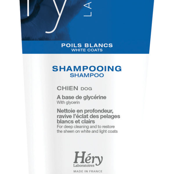 ΛΕΥΚΟ ΤΡΙΧΩΜΑ WHITE COAT SHAMPOO HERY 200ML